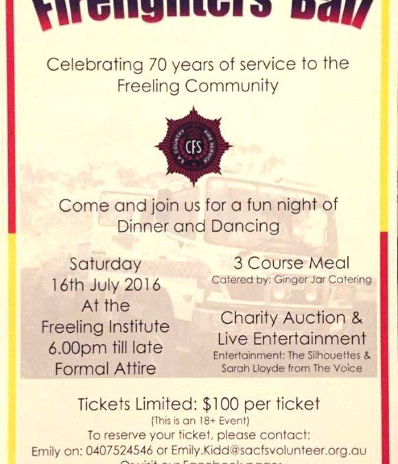 CFS Firefighters' Ball